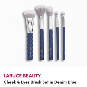 New Laruce Beauty 5 piece Makeup Brush Set